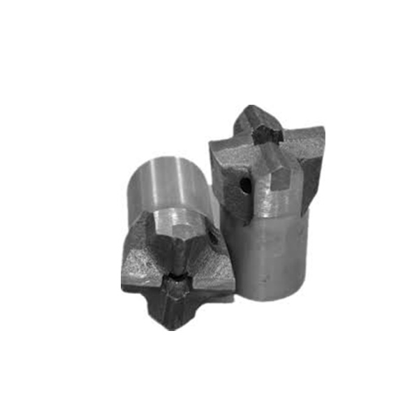 Tungsten Carbide Cutting Tools Cross Drill Bits For Mining Parts
